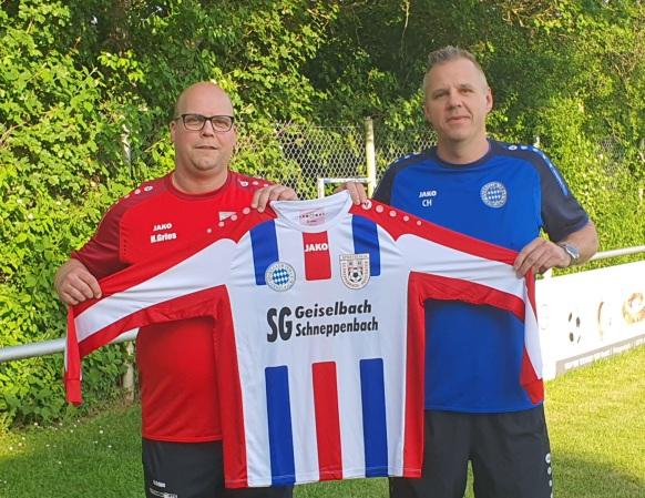 Heiko Gries (SVS-H) u. Christian Huth (SC G)