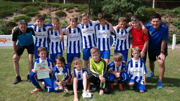 U13 D-Junioren Sieger SC Geiselbach