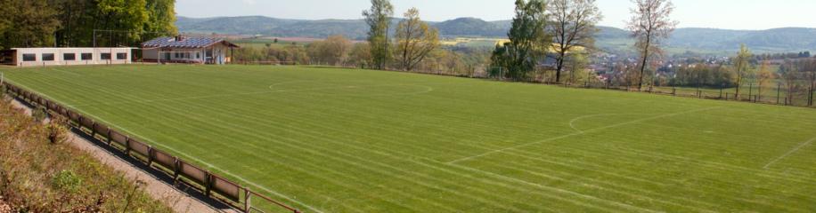 Sportgelände mit Sportheim des SV Schneppenbach - Hofstädten 1945 e.V.